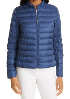 Max Mara Leisure Lisa Channel Quilted Down Jacket