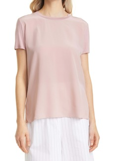 Max Mara Leisure Posato Silk Front T-Shirt