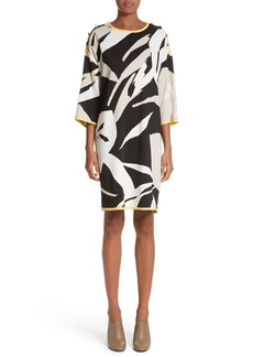 Max Mara Leva Print Shift Dress