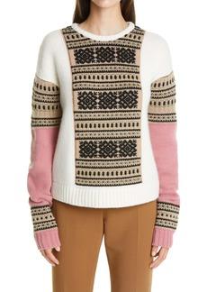 Max Mara Liana Fair Isle Sweater