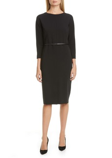 Max Mara Liriche Stretch Wool Dress