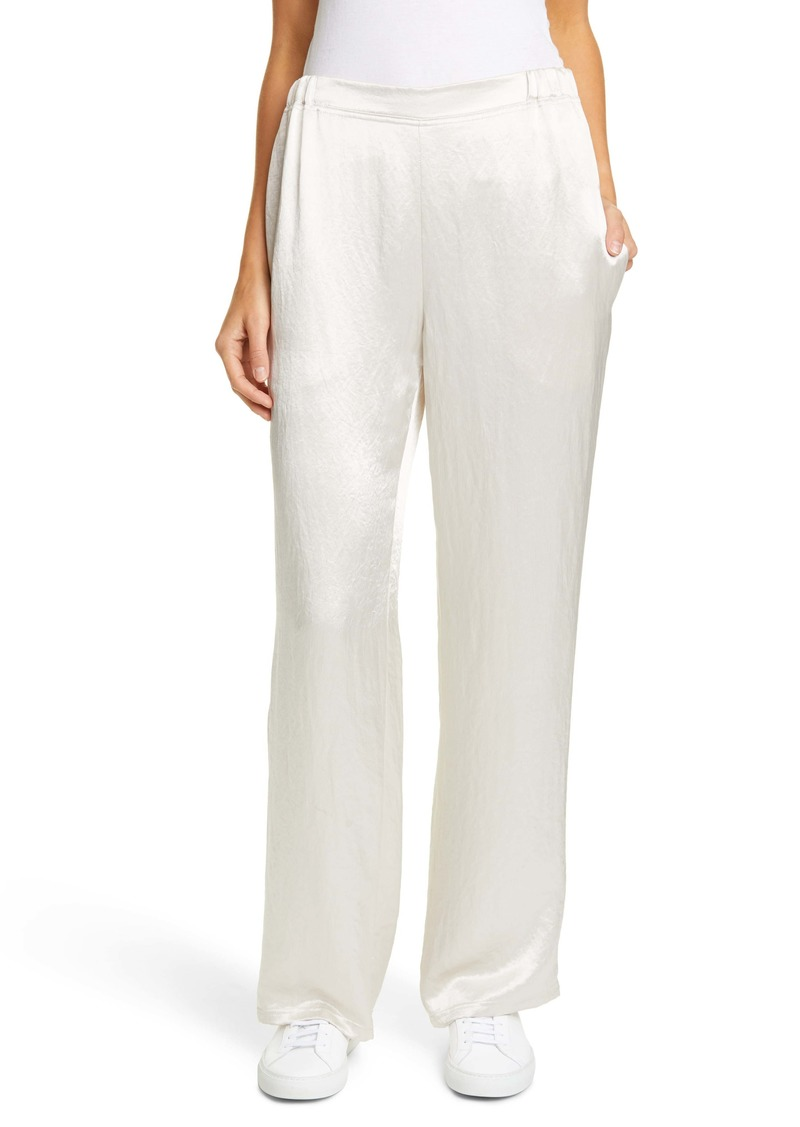 Max Mara Leisure Mach Hammered Satin Pants