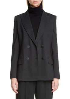 Max Mara Madison Plaid Jacket