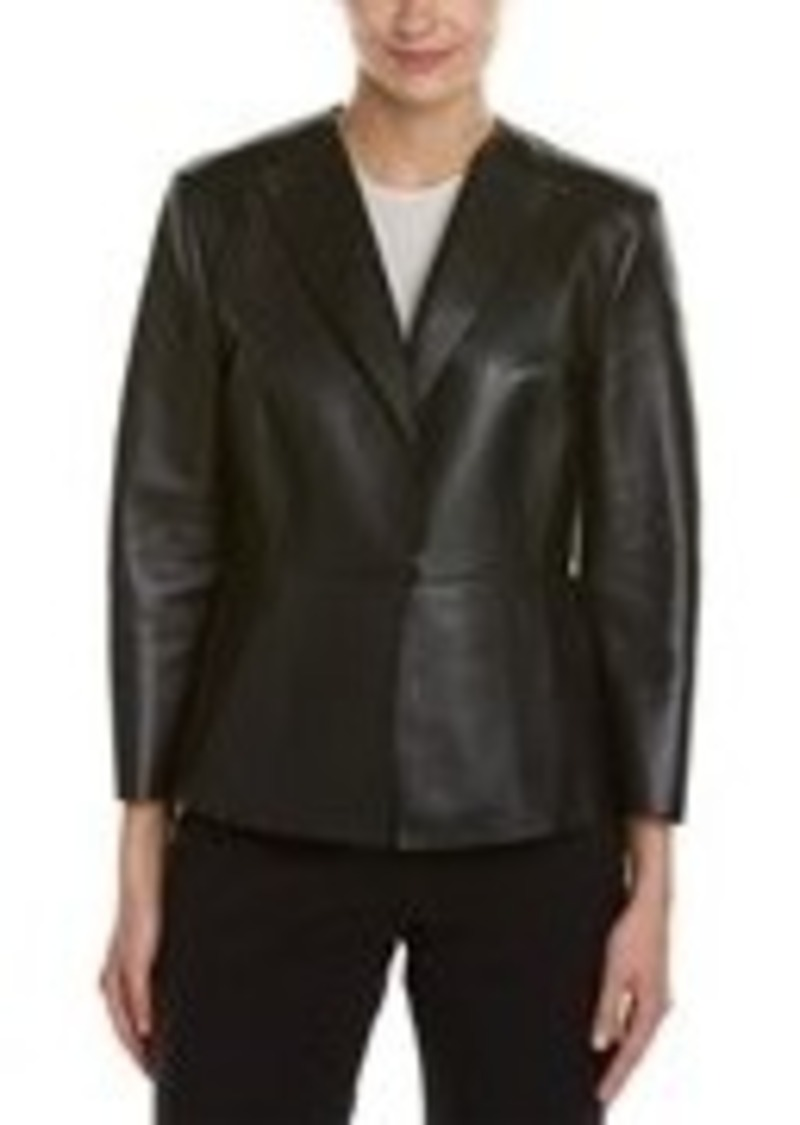 Max Mara Max Mara Leather Jacket