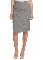 Max Mara Max Mara Linen Pencil Skirt
