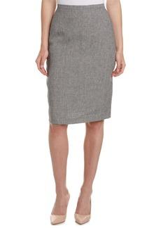 Max Mara Max Mara Linen Pencil Skirt