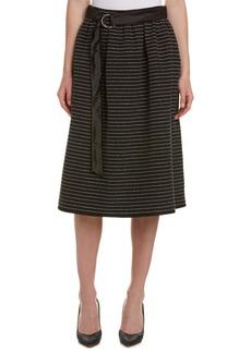 Max Mara Max Mara Silk Full Skirt