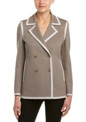 Max Mara Max Mara Wool & Angora-Blend Jacket