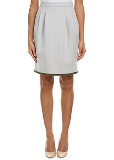 Max Mara Max Mara Wool & Angora-Blend Skirt