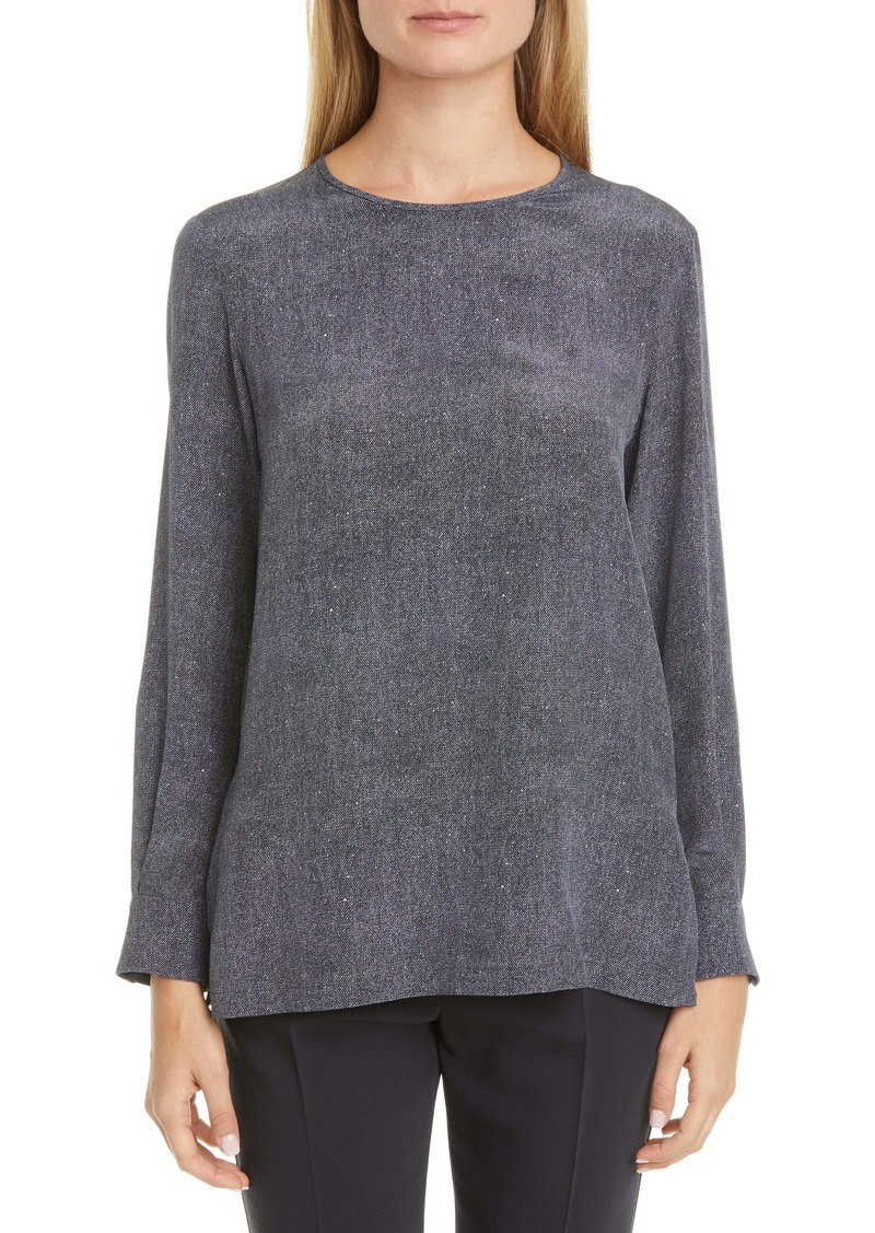 Max Mara Meteora Silk Top