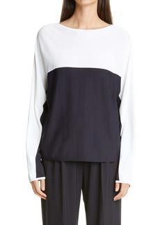 Max Mara Muschio Oversize Colorblock Sweater