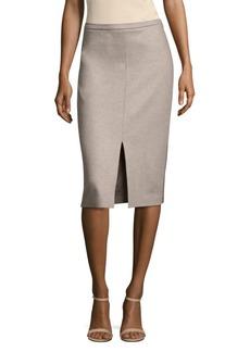 Max Mara Nanna Wool Pencil Skirt