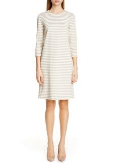 Max Mara Nella Stripe Knit Shift Dress