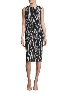 Max Mara Nespola Printed Jersey Dress