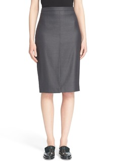 Max Mara 'Nestore' Wool Blend Pencil Skirt