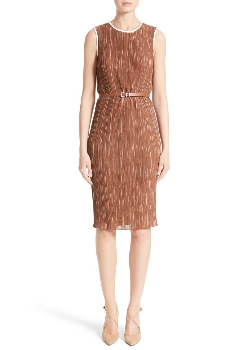 max mara max mara opzione pliss dress dresses shop it to me. Black Bedroom Furniture Sets. Home Design Ideas