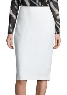 Max Mara Orata Linen Pencil Skirt