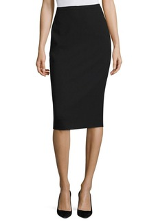 Max Mara Orca Wool Bistretch Pencil Skirt