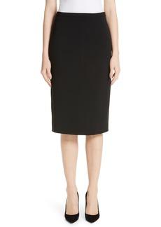 Max Mara Ornati Pleat Back Skirt