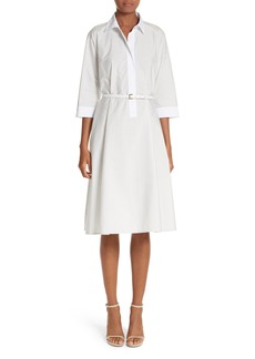 Max Mara Parola Cotton Shirtdress
