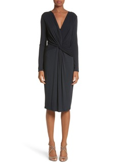 Max Mara Petalo Twisted Dress