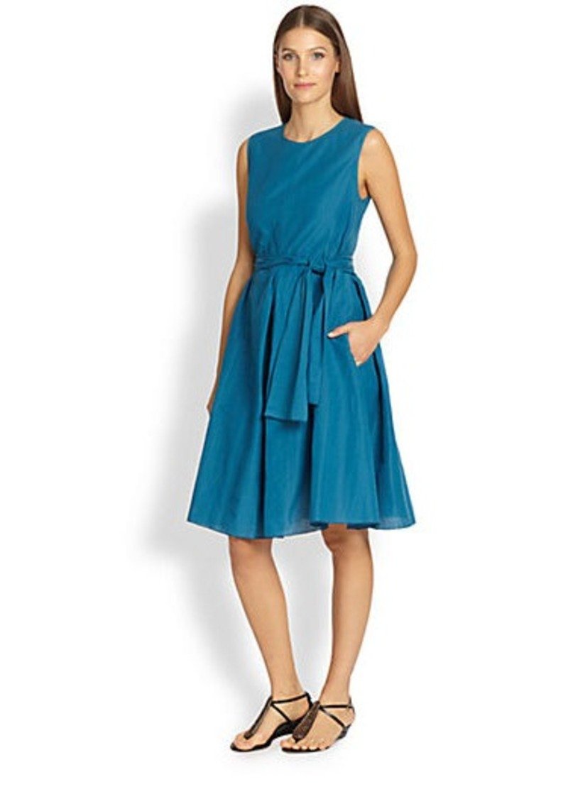 Max Mara Pleated Dress