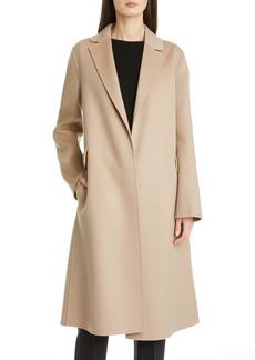 Max Mara Polly Wool Wrap Coat