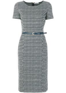 Max Mara print jersey dress - Blue