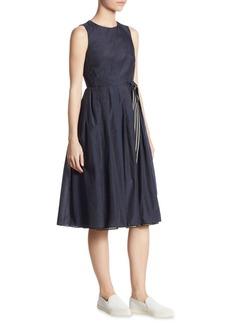 Reed Tie Waist Dress