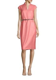 Max Mara Reseda Silk-Blend Dress
