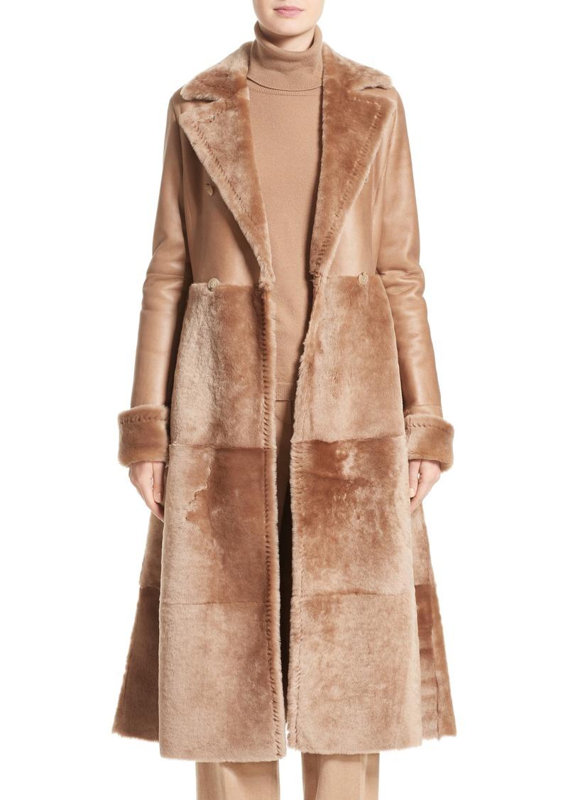 Max Mara Rimini Genuine Shearling Coat