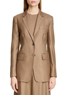 Max Mara Rosina Camel Hair & Silk Jacket