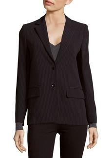 Max Mara Selz Wool-Blend Striped Jacket