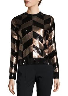 Max Mara Sequin Wool Sweater