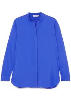 Max Mara Silk Crepe De Chine Shirt