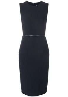 Max Mara skinny belt shift dress - Blue
