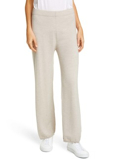 Max Mara Leisure Sofocle Virgin Wool Knit Pants