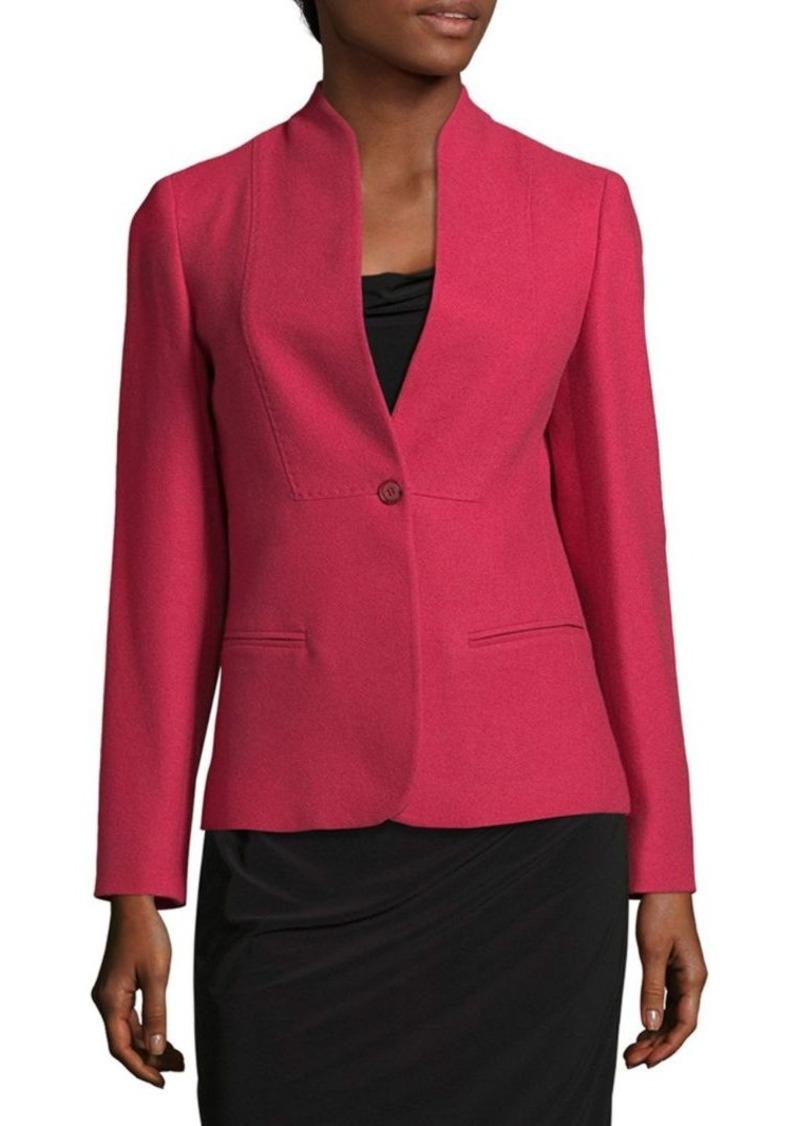 max mara max mara solid cashmere jacket outerwear shop it to me. Black Bedroom Furniture Sets. Home Design Ideas