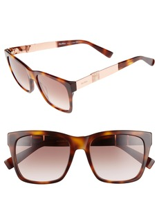 Max Mara Stone 54mm Gradient Sunglasses