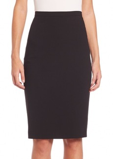Max Mara Stretch Virgin Wool Pencil Skirt