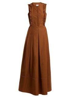 Max Mara Studio Alcamo maxi dress