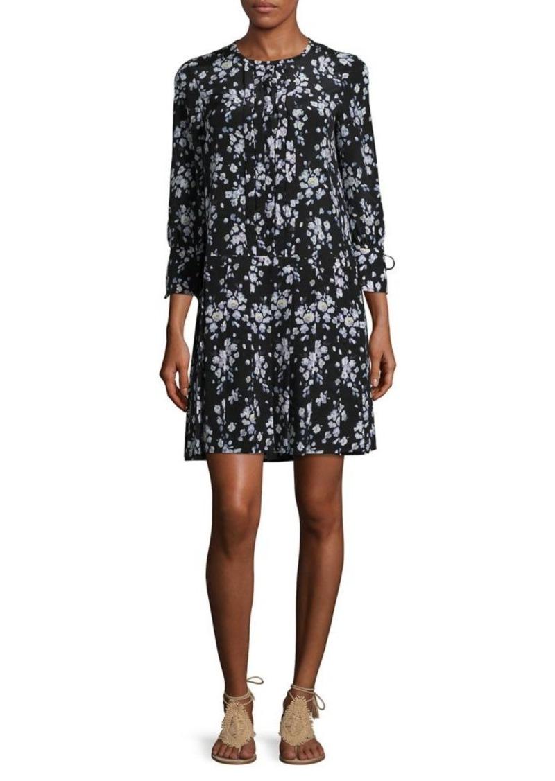 579619877da On Sale today! Max Mara Max Mara Studio Barocco Floral Silk Dress