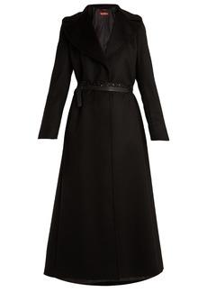 Max Mara Studio Single-breasted wool coat