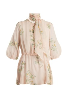 Max Mara Studio Wildflower blouse