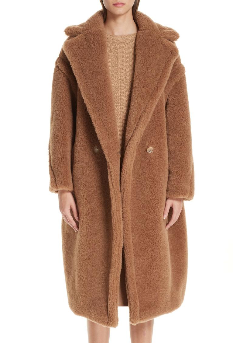 Max Mara Teddy Bear Icon Faux Fur Coat