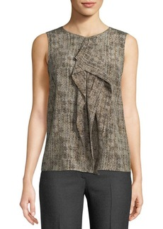 Max Mara Textured Silk Blouse