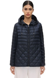 Max Mara The Cube Hooded Down Jacket