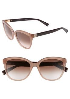 Max Mara Tile 55mm Cat Eye Sunglasses