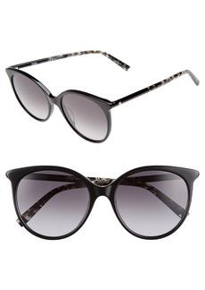 Max Mara Tube 54mm Gradient Lens Cat Eye Sunglasses