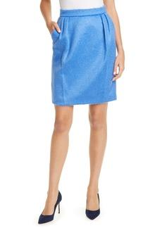 Max Mara Turchia Mohair Blend Skirt